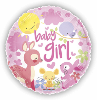 Baby Girl Woodland Animals