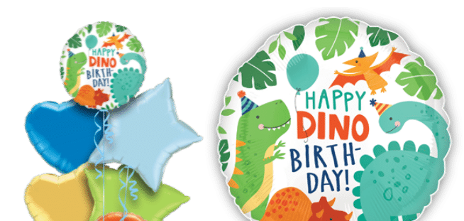 Dinomite Dinosaur Party Balloon