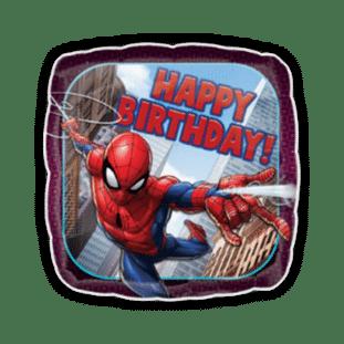 Spiderman Happy Birthday Balloon