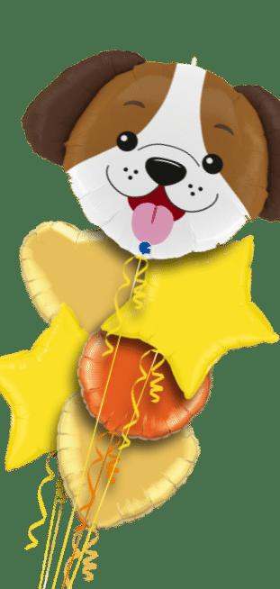 Dog Puppy Head Balloon