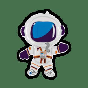 Happy Astronaut Balloon