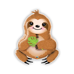Sweet Sloth Balloon