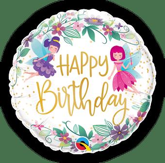 Birthday Wild Flower Fairies