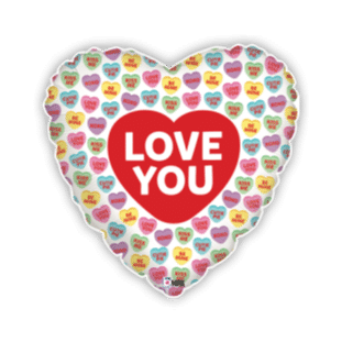 Love Hearts Balloon