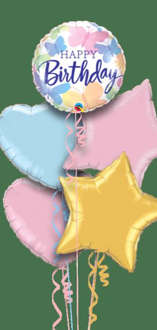 Birthday Butterflies Balloon