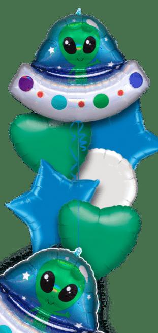 Alien Spaceship Balloon