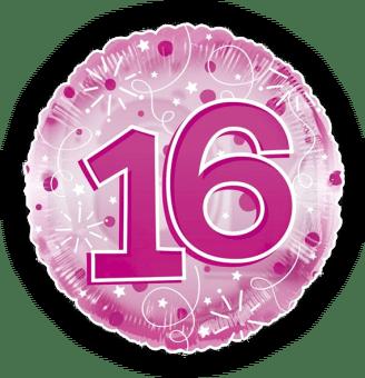 Jumbo Pink Streamers 16th Birthday