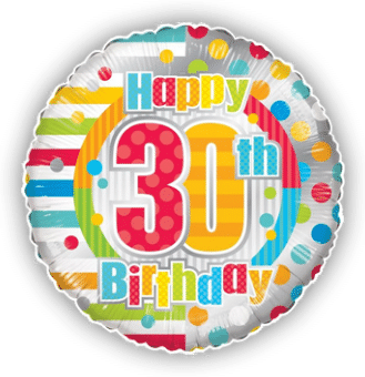 Colourful 30th Birthday