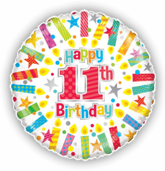 Colourful 11th Birthday