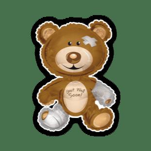 Get Well Soon Giant Bear Balloon