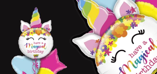 Magical Birthday Unicorn Balloon