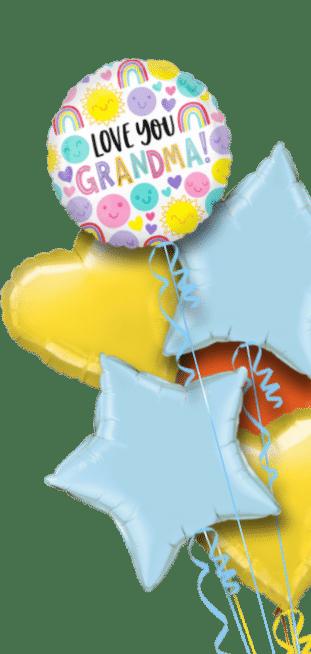 Love You Grandma Balloon