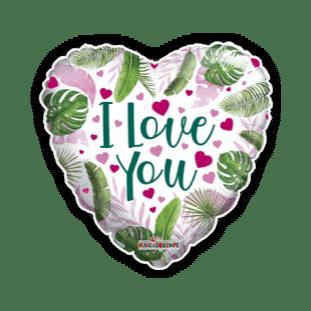 Leafy Love You Balloon