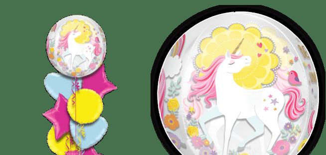 Magical Unicorn Orbz Balloon