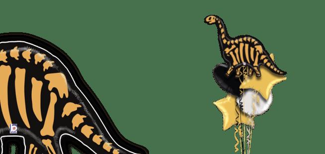 Brontosaurus Bones Balloon