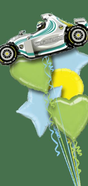 Racing Car Balloon