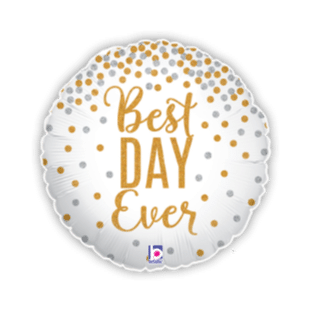 Best Day Ever Confetti Balloon