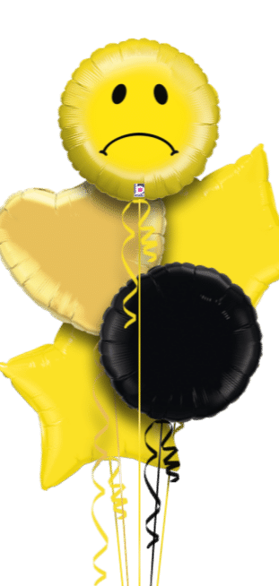 Sad Face Emoji Balloon