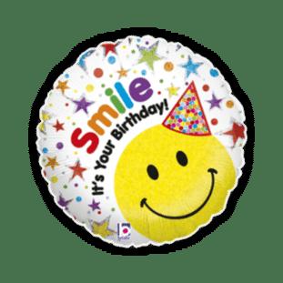 Smile Its Your Birthday Balloon