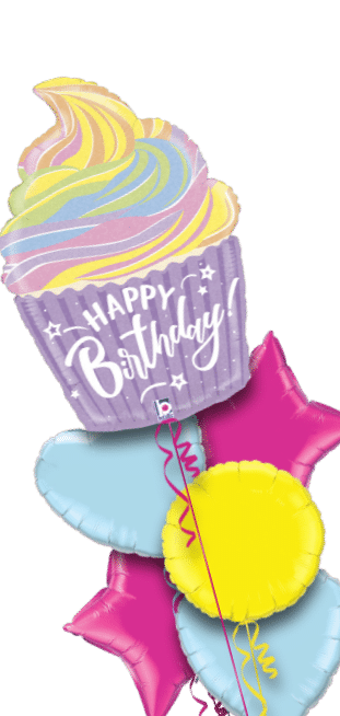 Birthday Giant Cup Cake Balloon