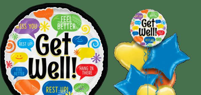Get Well Messages Balloon