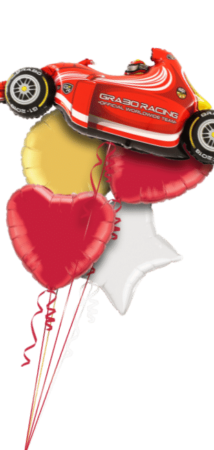 Red Racing Car Balloon
