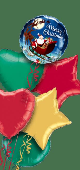 Christmas St Nick Balloon