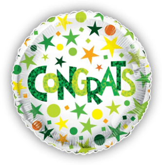 Congrats Spots and Stars