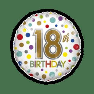 18th Birthday Spots Balloon