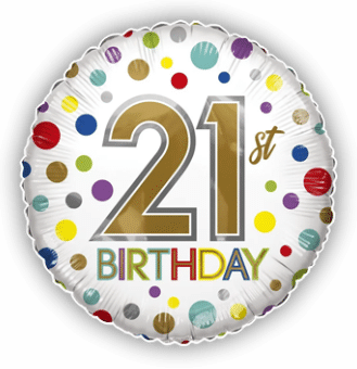 21st Birthday Spots
