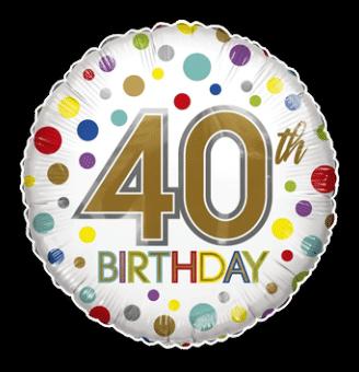 40th Birthday Spots