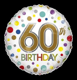 60th Birthday Spots