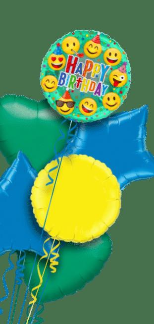 Smiley Emoji Happy Birthday Balloon