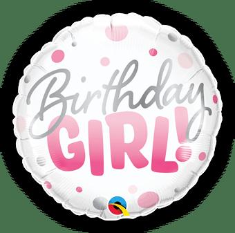 Birthday Girl Pink Spots