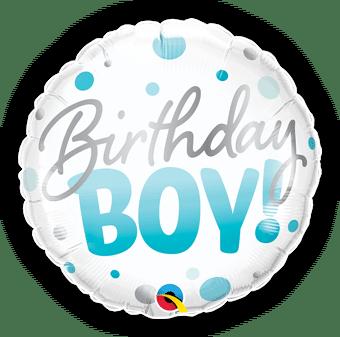 Birthday Boy Blue Spots
