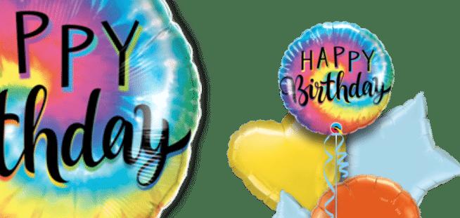 Colourful Birthday Balloon