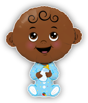Cute Baby Boy Darker Skin Tone