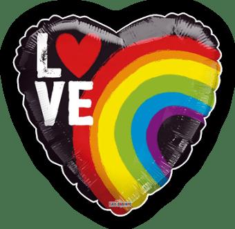Love Rainbow Heart