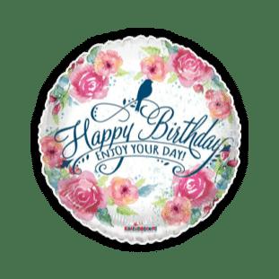 Happy Birthday Enjoy Your Day Balloon