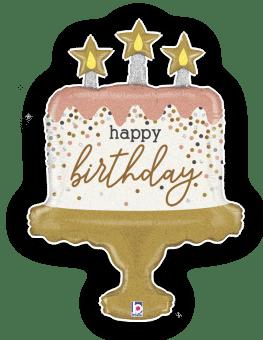 Birthday Sparkle Cake