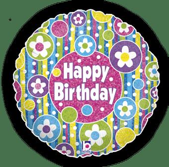 Birthday Bright Flowers