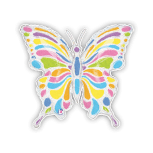 Colourful Butterfly Balloon