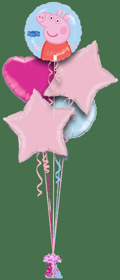 Peppa Pig Balloon Bunch