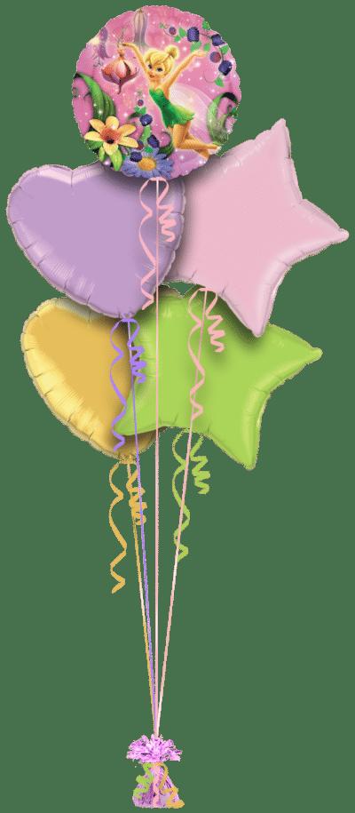 Tinker Bell Balloon Bunch