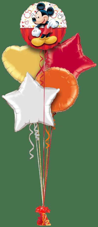 Mickey Mouse Balloon Bunch