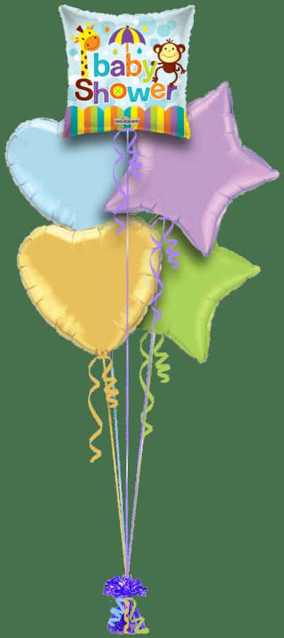 Baby Shower Balloon Bunch