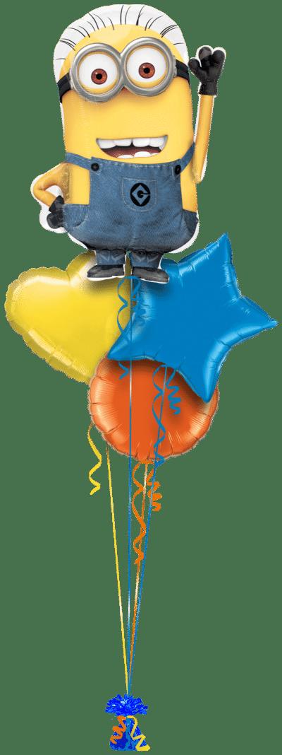 Despicable Me Minions Balloon Bunch