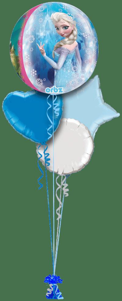 Frozen Orbz Balloon Bunch