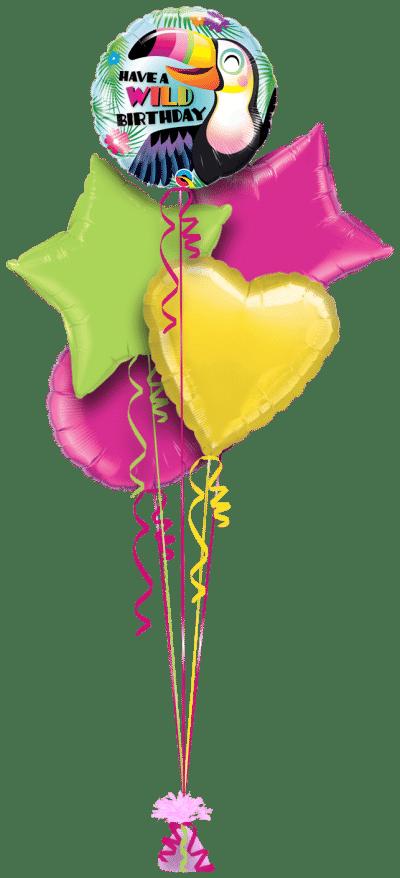 Have a Wild Birthday Balloon Bunch