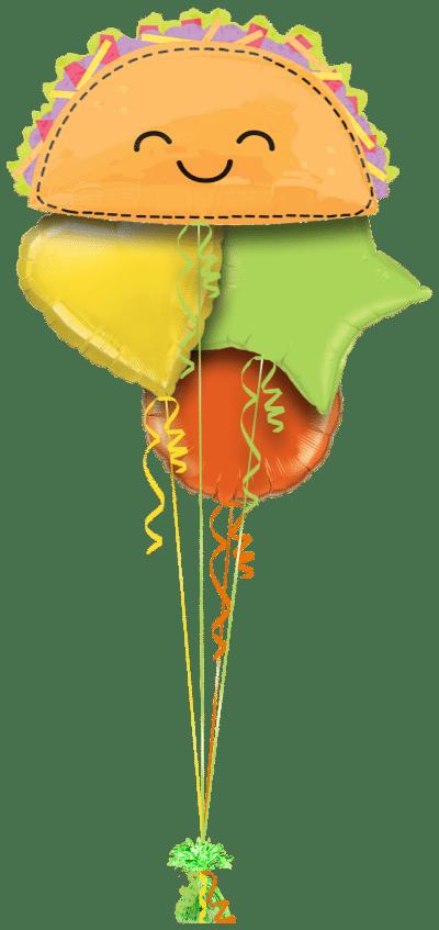 Taco Fun Balloon Bunch